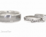 Bespoke wedding rings, made to order in Hobart Jewellery Shop