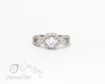 Diamond Infinity Ring from Jai Haw Jeweller Hobart