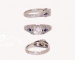 Diamond Engagement Ring from Hobart Jewellery shop Jai Hay Jeweller