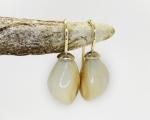 Unique custom made earrings from Hobart Jewellery shop Jai Hay Jeweller