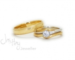 Gold jewellery from Hobart Jewellery shop Jai Hay Jeweller