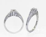 Unique Diamond Ring from Hobart Jewellery shop Jai Hay Jeweller