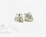 Keshi Studs Bespoke Handmade ring from Hobart jewellery shop Jai Hay Jeweller