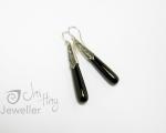 Onyx Earrings from Hobart jewellery shop Jai Hay Jeweller