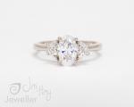 Bespoke Handmade ring from Hobart jewellery shop Jai Hay Jeweller