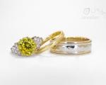 Yellow Sapphire Rings Hobart Jewellery Shop Jai Hay Jeweller