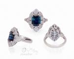 Unique Ring from Hobart Jewellery shop Jai Hay Jeweller