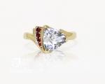 topaz ring from Hobart Jewellery shop Jai Hay Jeweller